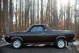 100 Subaru Truck Car Someone Paid 46000 For This Mint 1978 BRAT