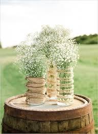 Rustically Romantic Wedding Wine Barrel