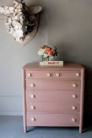 Pink Vintage Dresser Knobs by Weirdy Newspaper Thing But The Dresser Is Precious Decor