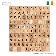 scrabble tiles complete set irish language buy scrabble