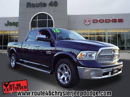 100 46 Dodge Truck Certified Used 2015 Ram 1500 Laramie In Little Falls NJ Stock C10014I