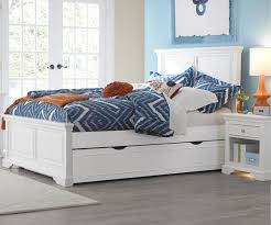 White Full Size Trundle Bed Toddler — Loft Bed Design Beautiful