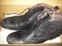 bed stu men s bryden size 9 dress shoes leather boot heel top shoe