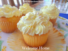Welcome Home Blog Lemon Pearl Cupcakes