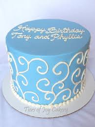 Birthday Cakes Simple Blue Birthday Cakes Ideas Black