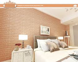 Aliexpress Buy 2017 Home Decor 3D Brick Wall Sticker Self Adhesive Foam Wallpaper Panels Room Decal Stickers On The 70x77cm25 From Reliable