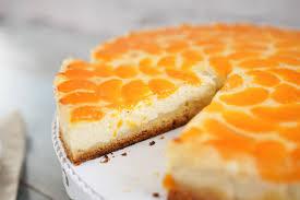 mandarinen schmand kuchen mit vanille genialem guss