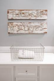 Awesome Country Decor Bathroom Signs Of Wire Baskets Storage For Laundry Above Vanity Cabinet White