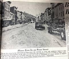 Sinking Spring Borough Snow Emergency by Decades Archives Berks Nostalgia Reading Berks History