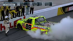 Matt Crafton Wins In G-W-C Finish - Martinsville - 2014 Nascar ...