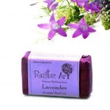 Rustic Art Organic Lavendar Soap