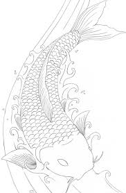 Fresh Koi Fish Coloring Page 81 With Additional Download Pages