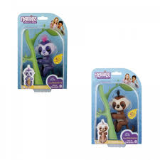 Fingerlings Interactive Baby Sloth Toy Assorted