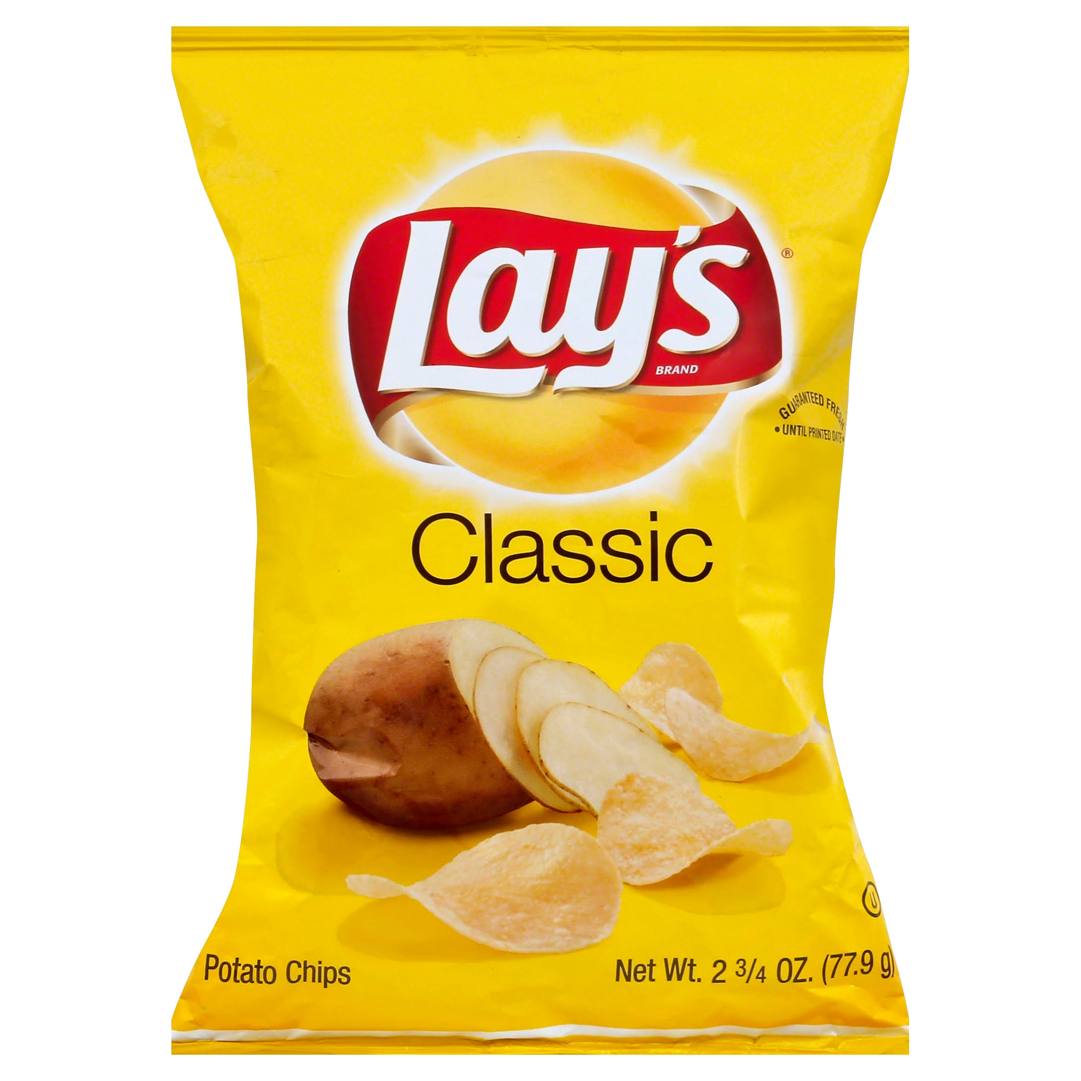 Lays Potato Chips, Classic - 2.75 oz