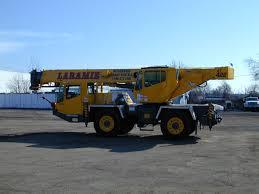 100 Truck Crane All Terrain Hydraulic S Laramie