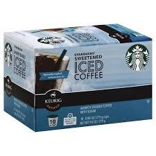 Starbucks Sweetened Iced Coffee K Cup