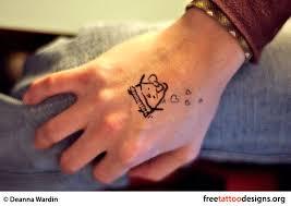 Cute Tattoo On Hand