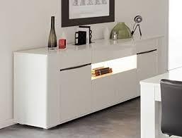 sideboard ceren 3 weiß hochglanz melamin 201x84x52 cm schrank wohnzimmer esszimmer