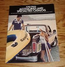 ORIGINAL 1978 FORD Truck Accessories Sales Brochure 78 Bronco Pickup ...