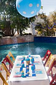 Image Of Backyard Pool Party Ideas