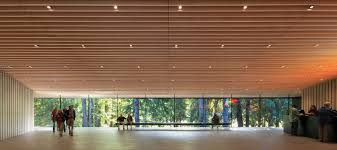 100 Patkau Architects Window On The Woods Audain Art Museum In Whistler DETAIL