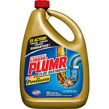 Bathroom Sink Not Draining Fast Enough by Liquid Plumr Pro Strength Clog Remover Full Clog Destroyer 80 Oz