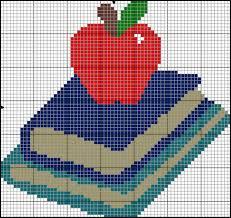 Frosted Pumpkin Stitchery Kit by 10 Cross Stitch Patterns For Back To Season