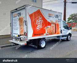 Home Depot Rental Moving Van Truck Stock Photo (Edit Now) 1169001478 ...
