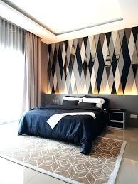 great Modern Bedroom Wallpaper Interior