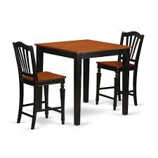 Ausergewohnlich Counter Pub Table Dark Height Legs Bar Base ...