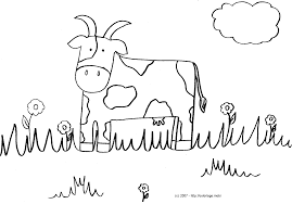 Dessin Vache Couleur