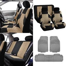 BESTFH: Auto Seat Covers For Auto With Heavy Duty Floor Mats Beige ... Customfit Faux Leather Car Floor Mats For Toyota Corolla 32019 All Weather Heavy Duty Rubber 3 Piece Black Somersets Top Truck Accsories Provider Gives Reasons You Need Oxgord Eagle Peterbilt Merchandise Trucks Front Set Regular Quad Cab Models W Full Bestfh Tan Seat Covers With Mat Combo Weathershield Hd Trunk Cargo Liner Auto Beige Amazoncom Universal Fit Frontrear 4piece Ridged Michelin Edgeliner 4 Youtube 02 Ford Expeditionf 1 50 Husky Liners