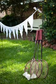 Shabby Chic Wedding Decorations Hire by Badminton Wedding Birthdays Corporate Parties Lawn Games For