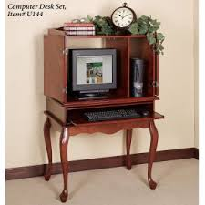 Sauder Harbor View Computer Desk Salt Oak by Furniture Timeless Elegance And Versatility Computer Hutch