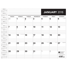 22x17 desk blotter 2018 browntrout calendars com blotter