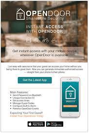 Lisa Stewart OPENDoor App Website