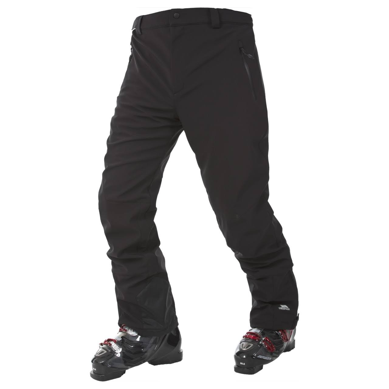 Mens Trespass Westend Ski Trousers - Black
