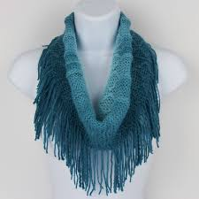 knit infinity scarf ombre collection