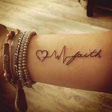 Love Hope And Faith Tattoo Symbol On Inner Forearm Ideas For Men