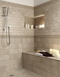 bathrooms with travertine and bead board bathroom walls