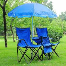 YescomUSA: Folding Chair For 2-Person W/ Umbrella & Carring Bag ...