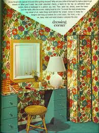 Colorful Corners From Seventeen Circa 1972 Teen DecorSeventeen MagazineRetro BedroomsCountry