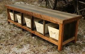 Image Of Best Rustic Entryway Bench