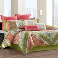Total Fab Coral Colored forter and Bedding Sets