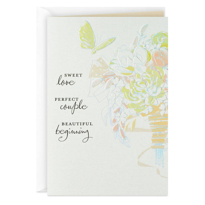Sweet Love Wedding Card