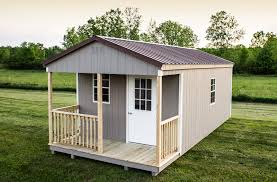 4x6 Wood Storage Shed by The Lancaster Prefab Cabin Shed Woodtex