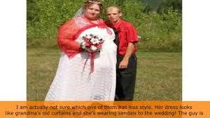 yop10 ugliest wedding dresses you u0027ll ever see youtube