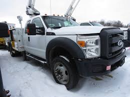 100 F550 Truck 2012 FORD BUCKET BOOM TRUCK FOR SALE 11377