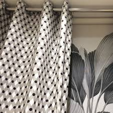 tissu pour rideaux à motif en coton en argos pizarra