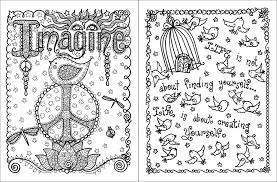Posh Adult Coloring Book Inspirational Quotes For Fun Relaxation